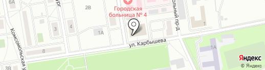 Таможенный пост на карте Первоуральска