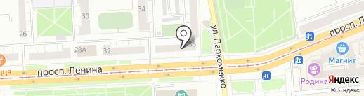 Банкомат, СКБ-банк, ПАО на карте Нижнего Тагила