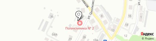 Аптека №458 на карте Первоуральска