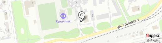 Ложка & Вилка на карте Первоуральска