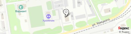 Mamontenok на карте Первоуральска