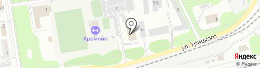 КПД на карте Первоуральска