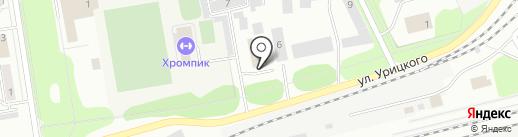 Айти 96 на карте Первоуральска