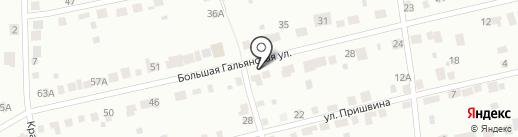 Забава на карте Нижнего Тагила