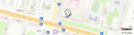 Адвокатская контора №7 на карте Нижнего Тагила