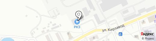Ревдинский кирпичный завод на карте Ревды