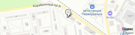 Amigo на карте Первоуральска