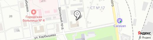 Первоуральское Ремонтное предприятие на карте Первоуральска