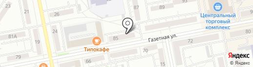 ТО-сервис на карте Нижнего Тагила