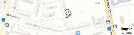 СМК №1 на карте Нижнего Тагила