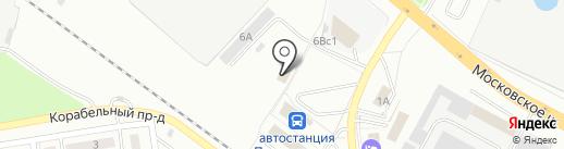 Продукты на карте Первоуральска