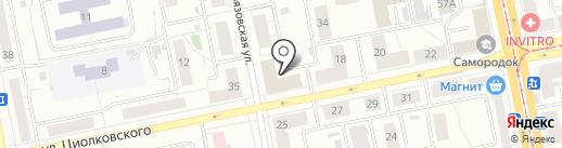 Учебно-методический центр по ГО и ЧС на карте Нижнего Тагила