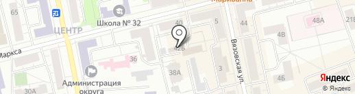 Региональный фонд содействия капитальному ремонту общего имущества в многоквартирных домах Свердловской области на карте Нижнего Тагила