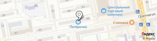 Мебель & Ковры на карте Нижнего Тагила