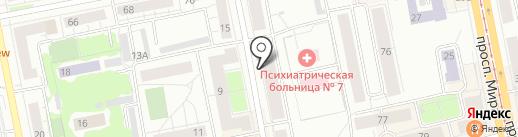 Содействие, КПК на карте Нижнего Тагила