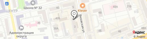M`art на карте Нижнего Тагила