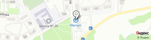 Магазин по продаже сухофруктов на карте Первоуральска
