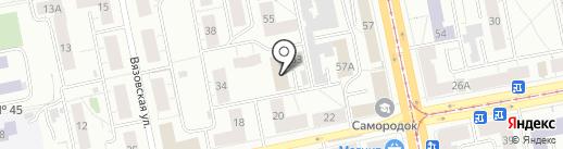 Киберплат на карте Нижнего Тагила