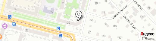 ЛЕВКОЙ на карте Нижнего Тагила