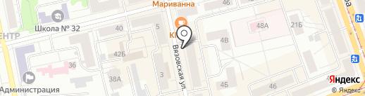 Магазин сувениров и товаров для здоровья на карте Нижнего Тагила