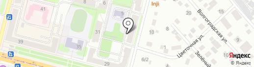 Всероссийское общество глухих на карте Нижнего Тагила