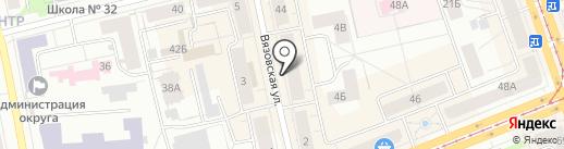 Аудиторская фирма на карте Нижнего Тагила