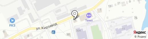 Кирзавод, ТСЖ на карте Ревды