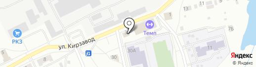 Почтовое отделение №5 на карте Ревды