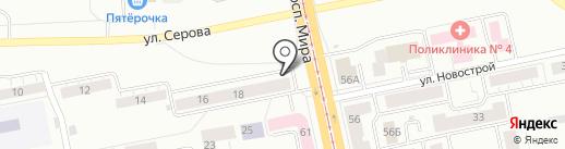 Магазин бытовой техники и электроники на карте Нижнего Тагила