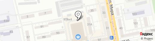РЫЖИЙ ЛИС на карте Нижнего Тагила
