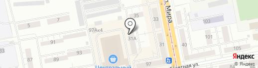 Мира, 31а, ТСЖ на карте Нижнего Тагила