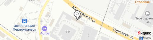 АвтоКард на карте Первоуральска