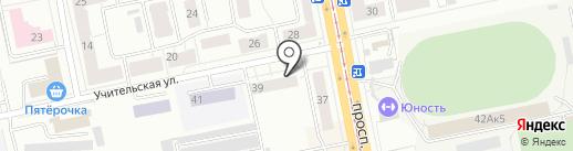 Максим на карте Нижнего Тагила