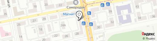 ЁМАЁ на карте Нижнего Тагила