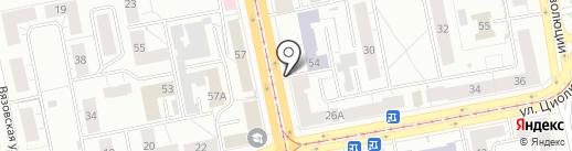 Росбанк, ПАО на карте Нижнего Тагила