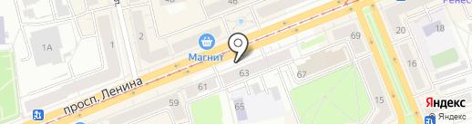 Магазин игрушек на карте Нижнего Тагила