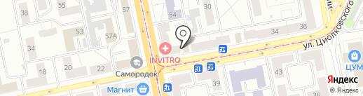 Фонбет на карте Нижнего Тагила