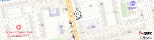 ПРОМО-STYLE на карте Нижнего Тагила