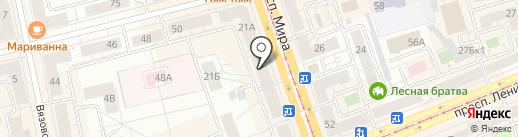ТЧК на карте Нижнего Тагила