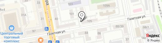 Инструмент Плюс на карте Нижнего Тагила