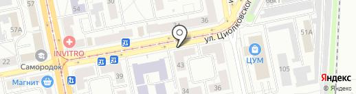 АвтоТеатр на карте Нижнего Тагила