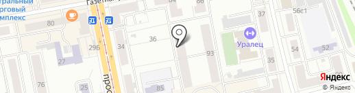 Скорость-сервис на карте Нижнего Тагила