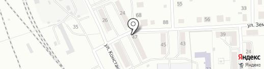 На перекрестке на карте Нижнего Тагила