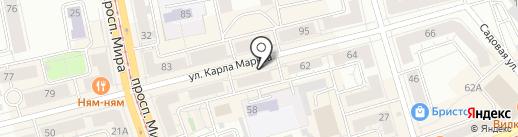 Мастерская по ремонту обуви на карте Нижнего Тагила