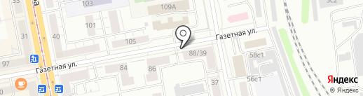ПромТрансСтрой на карте Нижнего Тагила