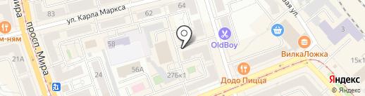 Арт-Лайн на карте Нижнего Тагила