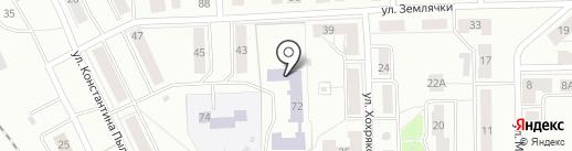 Средняя общеобразовательная школа №144 на карте Нижнего Тагила