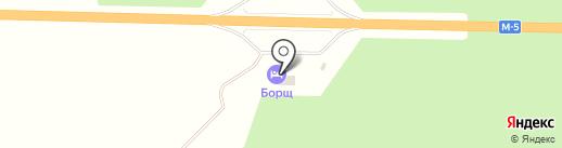 Борщ на карте Миасса
