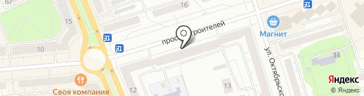 Банкомат, АКБ Мосуралбанк на карте Нижнего Тагила