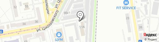 LuxStroy на карте Нижнего Тагила